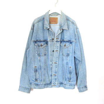 90's Grunge Levi's Denim Jacket size - XL