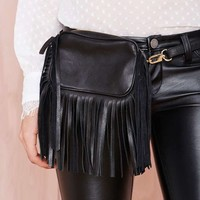 B-Low the Belt Leather Bag