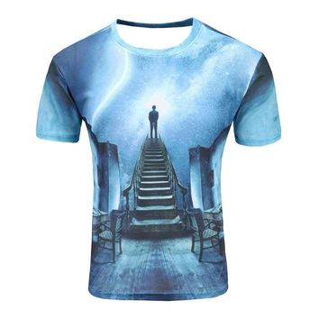 Colorful 3D Printed High Quality Tees #ladder2