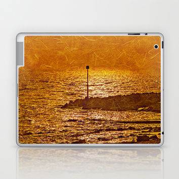 SEA OF GOLD Laptop & iPad Skin by catspaws