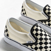 Vans Classic Checkerboard Slip-On Sneaker - Urban Outfitters