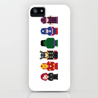 Avengers iPhone & iPod Case by PixelPower