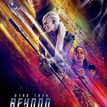 Star Trek Beyond Movie Poster Standup 4inx6in