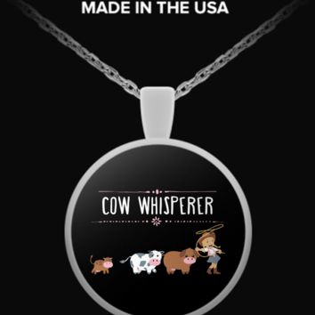 Cow Whisperer Necklace cowwhneck