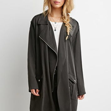 Collared Longline Jacket
