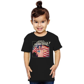 Made In America - Arnold Schwarzenegger Toddler T-shirt