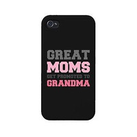 Great Parents Promoted To Grandparent Cute Phone Case Great Gift Idea