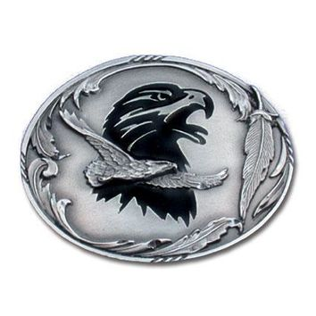 Sports Accessories - Eagle Enameled Belt Buckle