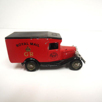 Collectible Lledo Days Gone Royal Mail Die-Cast Vintage Armored Car D6 7-9-13-14-37