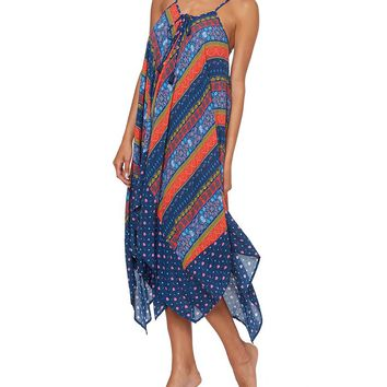 Jessica Simpson Lace Up Front Swimsuit Cover Up Dress | Dillard's