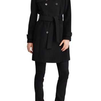 Lauren Ralph Lauren Wool Blend Trench Coat | Nordstrom
