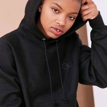 Champion + UO Monochrome Reverse Weave Hoodie Sweatshirt - Urban Outfitters