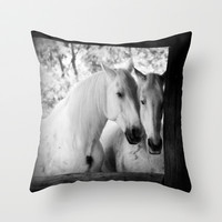 lovely couple Throw Pillow by Marianna Tankelevich