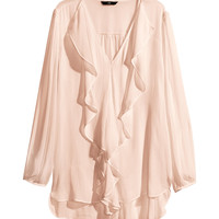 H&M - Ruffled Blouse