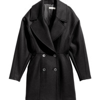 Double-breasted Coat - from H&M