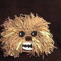 6049f624bb0 Star Wars Chewbacca Crochet Beanie - made to order - all sizes