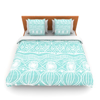 "Catherine Holcombe ""Beach Blanket Bingo"" Queen Fleece Duvet Cover - Outlet Item"
