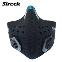 New Design With Filter Cycling Mask, Winter Training Mask Half Face, Mascarilla Polvo Ciclismo, Mascaras Ciclismo, 3 Colors