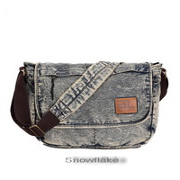 Sick denim cross messenger bags for school unisex - $76.80 : Notlie handbags, Original design messenger bags and backpack etc