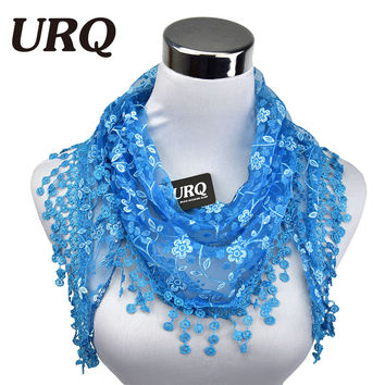 Summer Lace Tassel Scarf - 13 colors