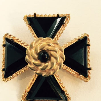 "Vintage ""Iron Cross"" Brooch"