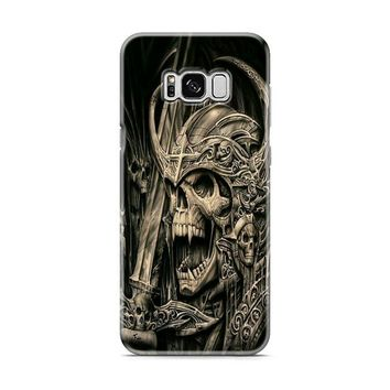death skull gold Samsung Galaxy S8 | Galaxy S8 Plus case