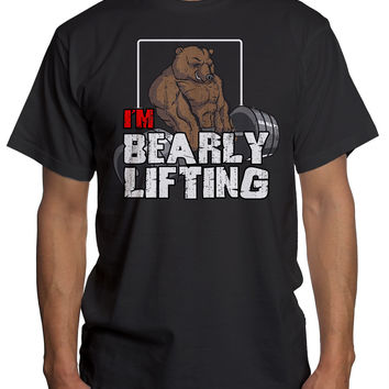 IM BEARLY LIFTING Funny Gym