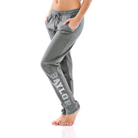Baylor Bears Let Loose by RNL Juniors Bryant Sweatpants - Charcoal