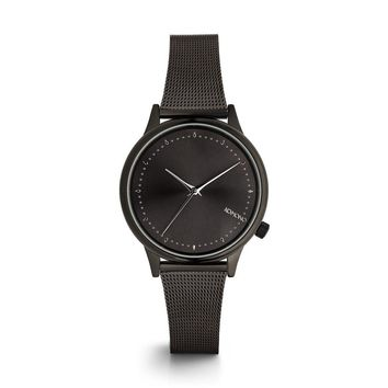 KOMONO Estelle Royale Watch in Black Silver