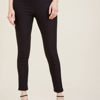 A Chic Start Pants in Black