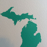 Michigan State Outline Decal