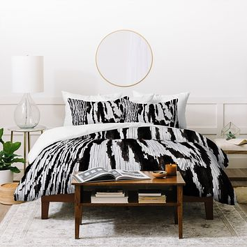 Caleb Troy Splintered Maze Duvet Cover