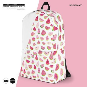 Unique Back to school gift - Personalized Custom Design Backpack School -