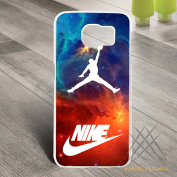 air jordan nike nebula Custom case for Samsung Galaxy