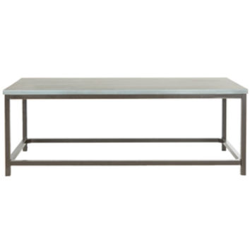 Shop Safavieh Alec Blue Pine Coffee Table at Lowes.com