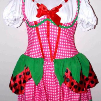 Leg Avenue Nursery Rhyme Theme S Sexy Halloween Costume Cosplay Dress Night Cap