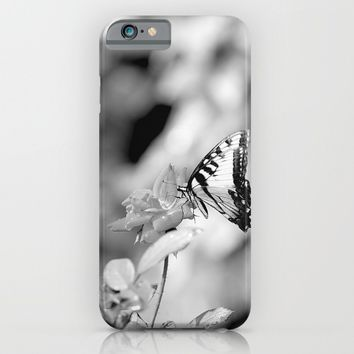 Butterflies Are Free iPhone & iPod Case by Theresa Campbell D'August Art