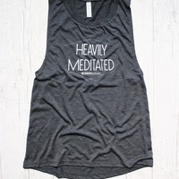 HEAVILY MEDITATED DECKLYN MUSCLE GRAPHIC TANK