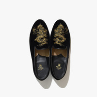 Oriental Dress Slipon (Black)