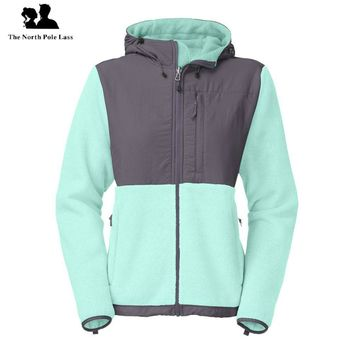 Fashion Winter Women Thick Fleece Hoodies Sweatshirt Slant Zipper Hoodie Sport Outerwear Long Coat Plus Size SoftShell Down Hooded Jacket