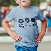 Youth Fine Jersey Tee / Kids Tshirt / Toddler Tee / Friends