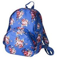 Mossimo Supply Co. Floral Backpack - Blue