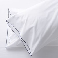 Belo Blue Standard Pillowcases (Set of 2)
