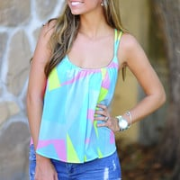 Work Of Art Tank: Neon Pink | Hope's
