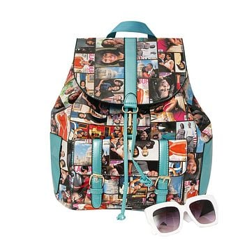 Obama Magazine Print Backpack