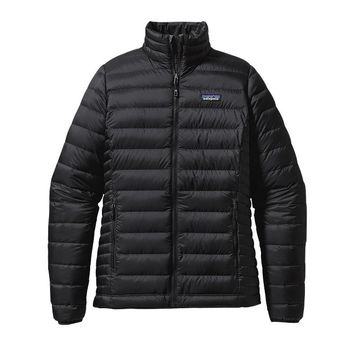 Patagonia Women's Down Sweater Jacket | Black