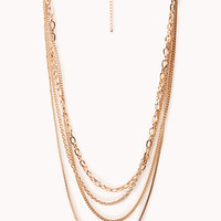 Hip Layered Chain Necklace