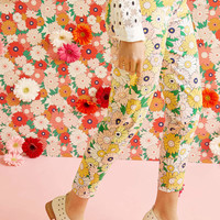 Exuberant Intrigue Pants in Retro Daisy | Mod Retro Vintage Pants | ModCloth.com
