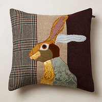Patchwork Forest Creature Pillow