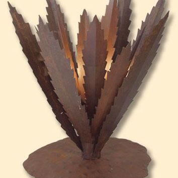 Iron Agave Lamp